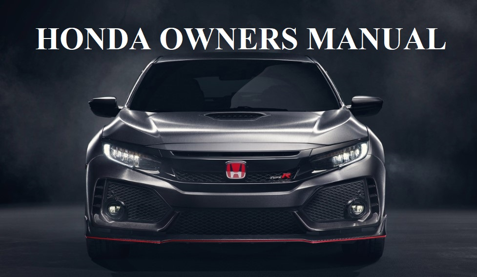Honda Owners Manual
