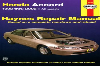 2000 Honda Accord Ex Coupe Owners Manual