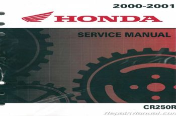 2000 Honda Cr250r Owners Manual