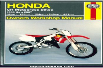 2001 Honda Cr250 Service Manual Free