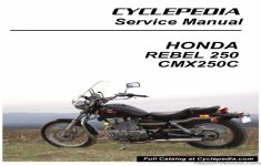 2001 Honda Rebel 250 Owners Manual