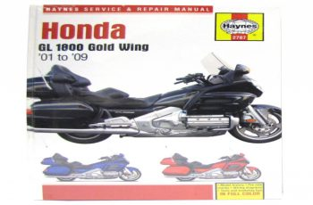 2002 Honda Goldwing 1800 Owners Manual