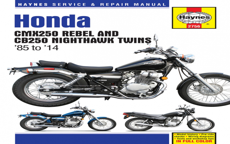 2002 Honda Rebel Owners Manual