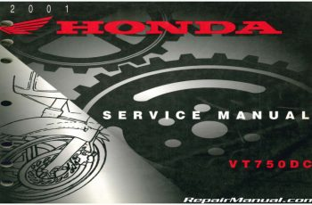 2002 Honda Vt750dc Owners Manual