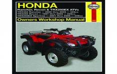 2003 Honda Rancher 350 4x4 Owners Manual