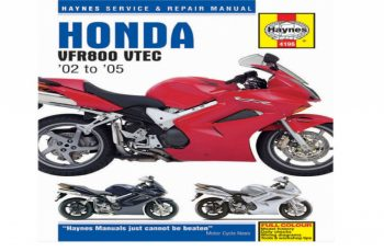 2003 Honda Vfr800 Owners Manual