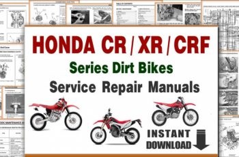 2004 Honda Cr85 Service Manual Pdf
