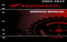 2004 Honda Crf50f Owners Manual Pdf