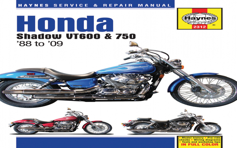 2004 Honda Shadow Aero 750 Owners Manual