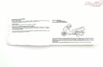2004 Honda Silverwing Owners Manual