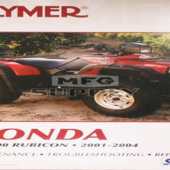 2004 Honda Trx 500 Owners Manual