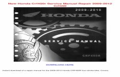 2005 Honda Crf450r Service Manual Free Download