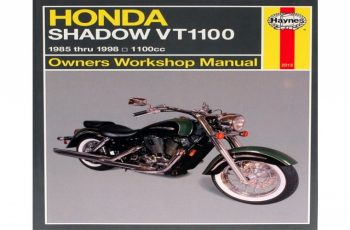 2005 Honda Shadow Owners Manual