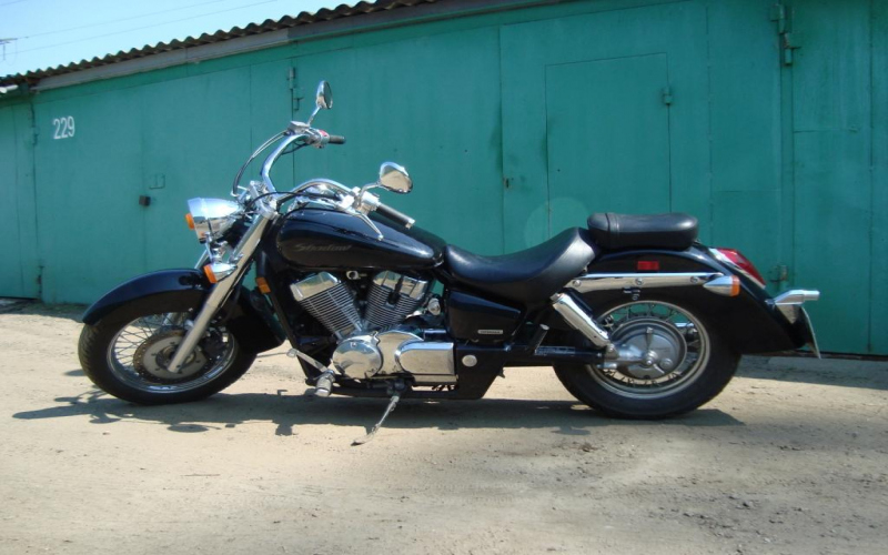 2005 Honda Shadow Spirit 750 Owners Manual