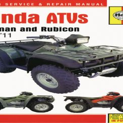 2005 Honda Trx 500 Owners Manual