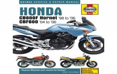 2006 Honda Cb600f Owners Manual