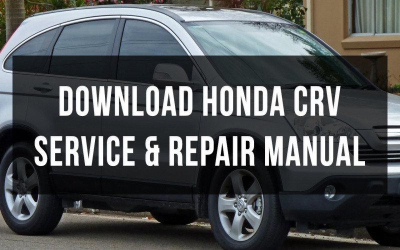 2006 Honda Cr V Owners Manual Download