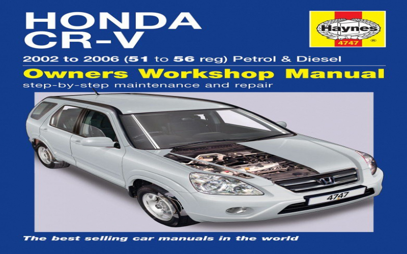 2006 Honda Cr V Owners Manual