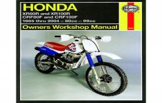 2006 Honda Crf 100 Owners Manual