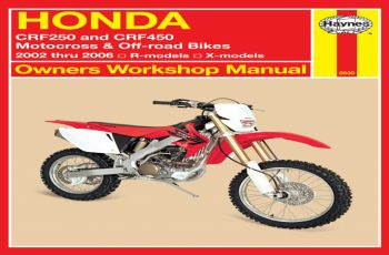 2006 Honda Crf250x Owners Manual Pdf