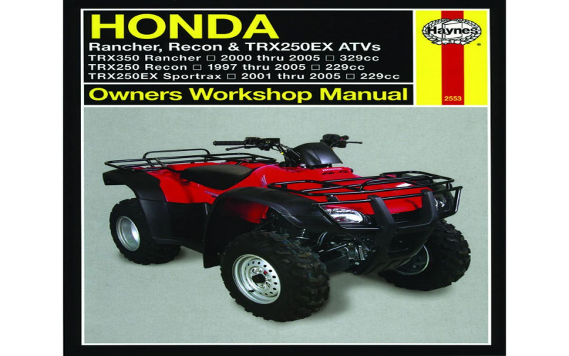 2006 Honda Rancher 350 Owners Manual