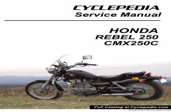 2006 Honda Rebel 250 Owners Manual
