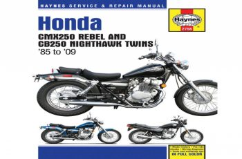 2007 Honda Rebel Owners Manual