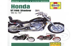 2007 Honda Shadow 1100 Owners Manual