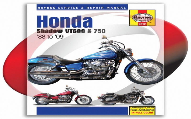 2007 Honda Shadow 600 Owners Manual