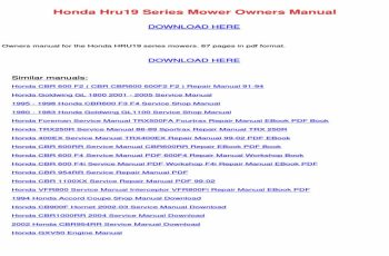 2007 Honda Trx450er Service Manual Free Download