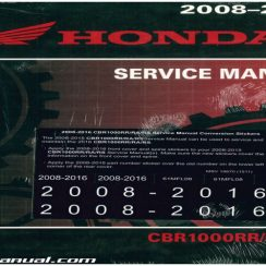 2008 Honda Cbr1000rr Owners Manual Pdf