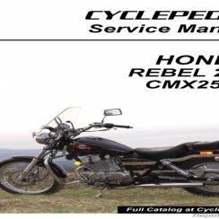 2008 Honda Rebel 250 Owners Manual Pdf