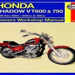 2008 Honda Shadow Owners Manual