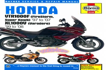 2008 Honda Varadero Owners Manual