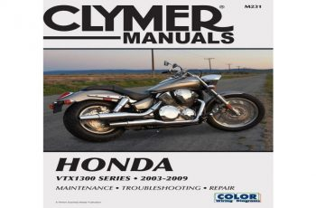 2008 Honda Vtx1300 Owners Manual