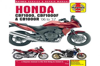 2009 Honda Cbf 1000 Owners Manual