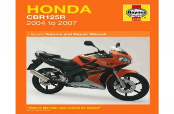 2009 Honda Cbr125r Owners Manual