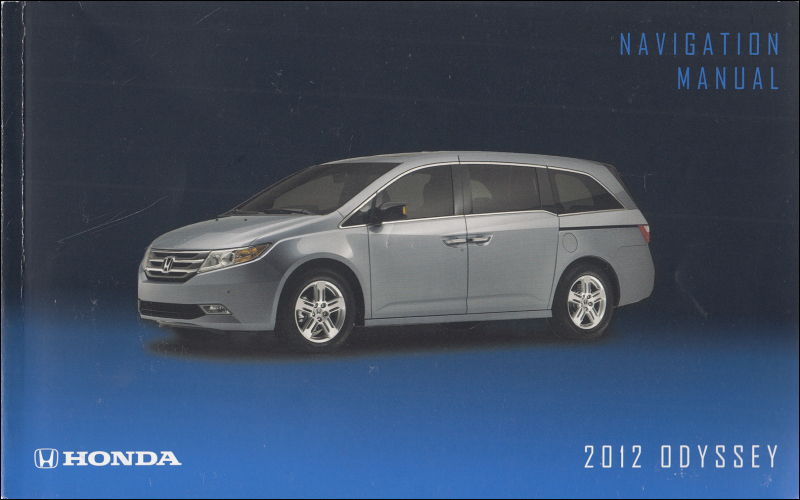 2009 Honda Odyssey Touring Owners Manual