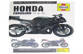 2010 Honda Cbr600rr Owners Manual