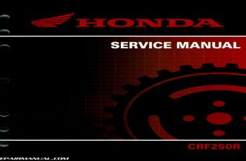 2010 Honda Crf250r Owners Manual