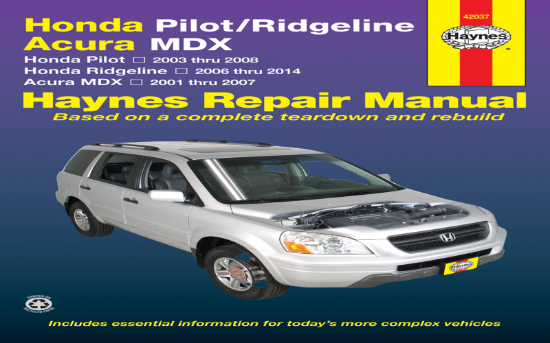 2010 Honda Ridgeline Owners Manual