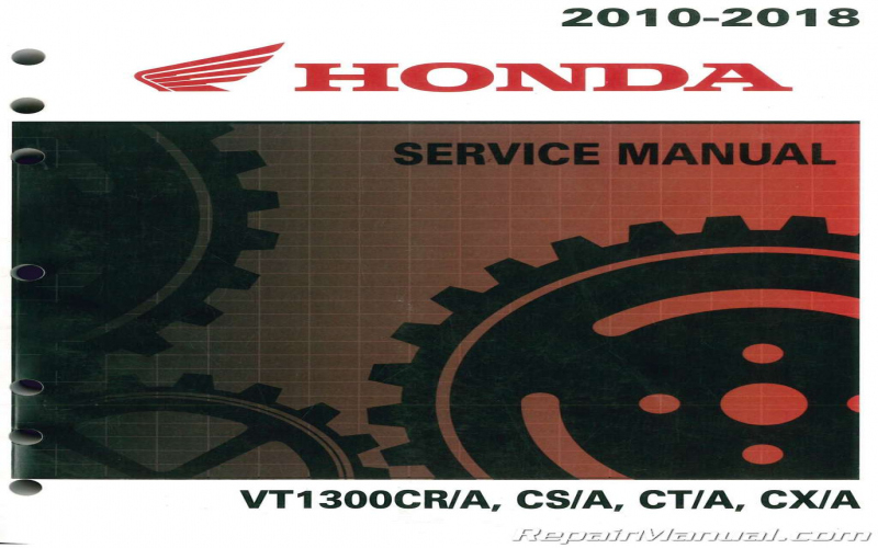 2010 Honda Stateline Owners Manual