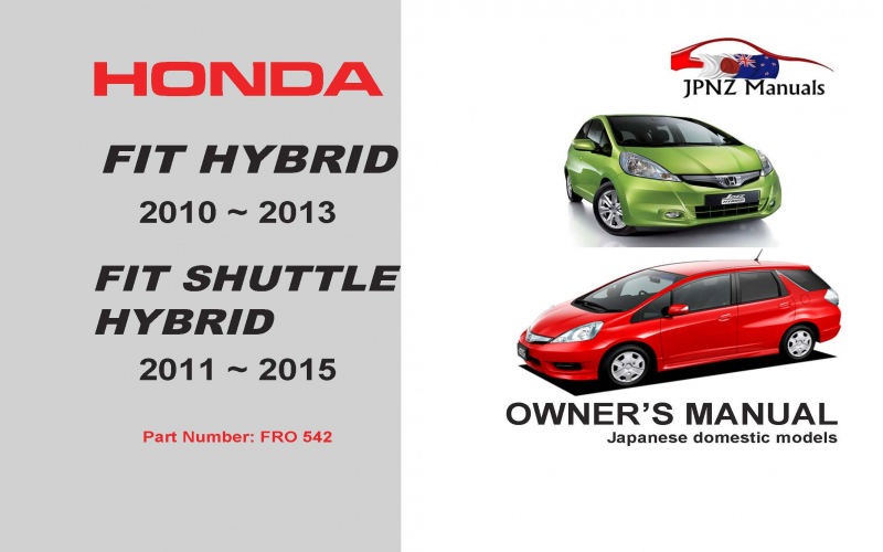 2011 Honda City Owners Manual