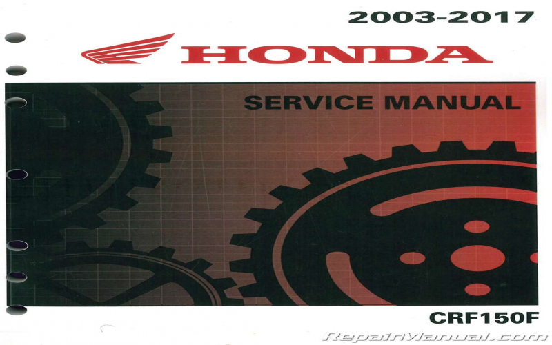 2011 Honda Crf150f Owners Manual