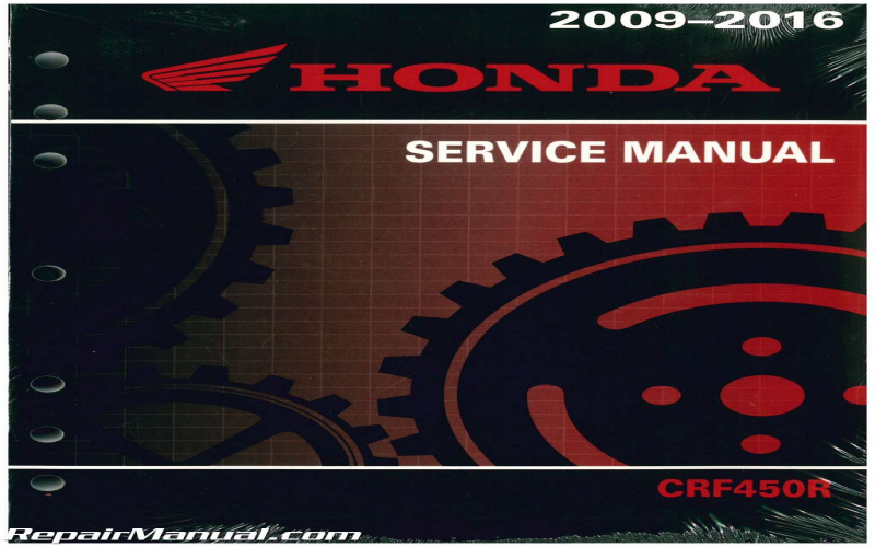 2011 Honda Crf450r Owners Manual Pdf