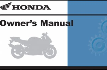 2011 Honda Shadow Owners Manual