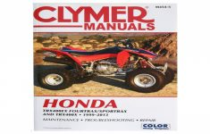 2012 Honda Trx400x Owners Manual