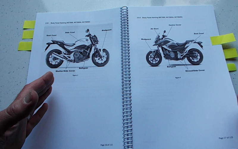 2013 Honda Nc700x Owners Manual