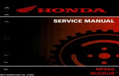 2013 Honda Ruckus Owners Manual