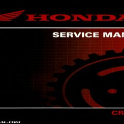 2014 Honda Crf250r Owners Manual